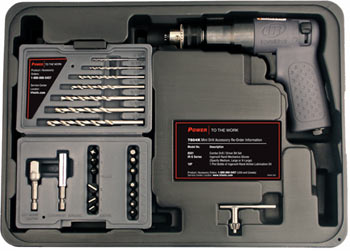 "IR 7804K 1/4"" air drill kit"